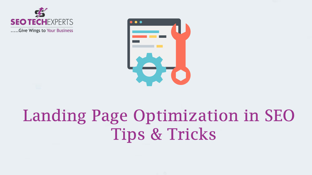 how to optimize landing page for seo