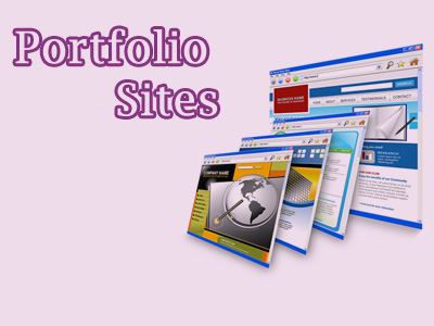 make single page portoflio site