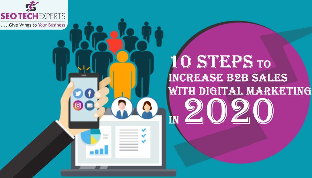 increase b2b sales with digital marketing