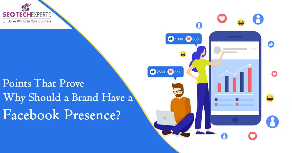 Brand Have A Facebook Presence