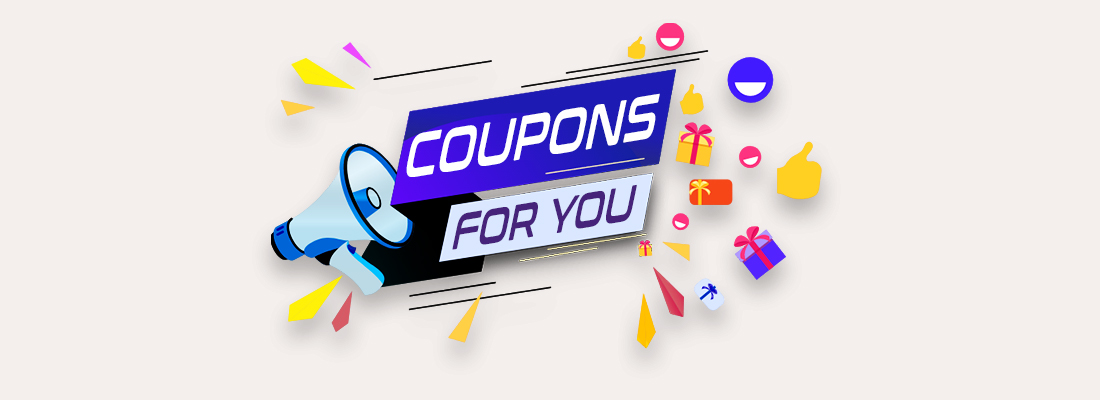 use sale coupons and promotional offers